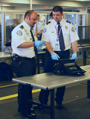 TSA Screening - Public Domain