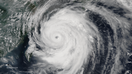 Typhoon Neoguri - Public Domain