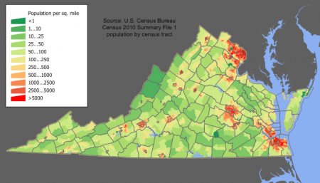 Virginia_population_map - Jim Irwin