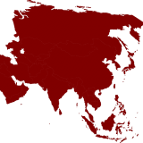 Asia - Public Domain
