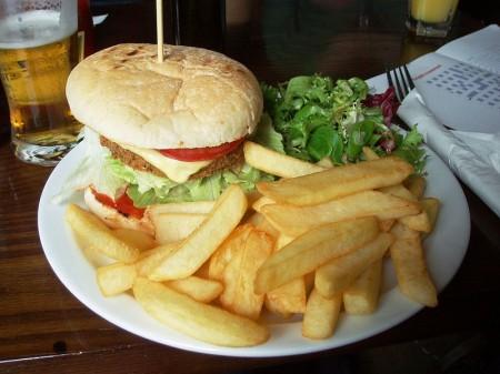 Burger And Fries - Photo by Ewan Munro