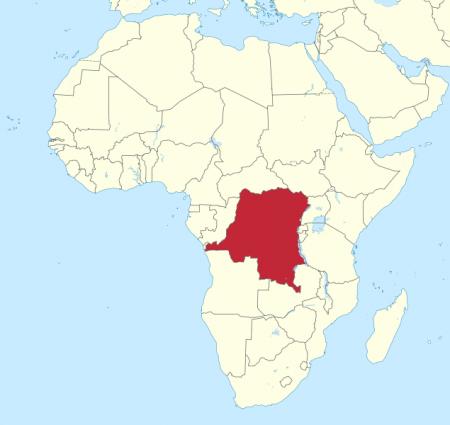Congo Map - Ebola