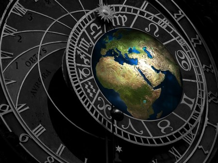 Earth Clock - Public Domain