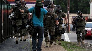 Ferguson Militarized Police - YouTube Screenshot
