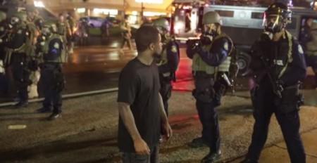 Ferguson Riots - YouTube Screenshot