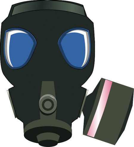 Gas Mask Biohazard - Public Domain