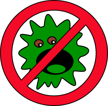 Germ Bug Mistake - Public Domain