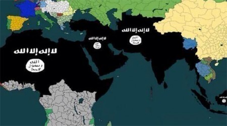 ISIS Global Conquest Map