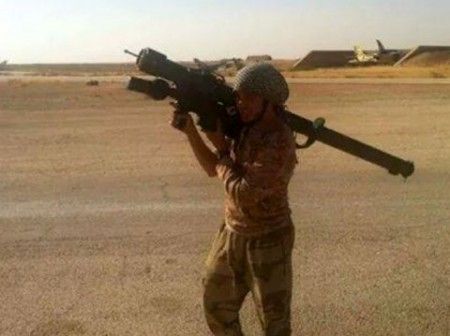 ISIS Militant - Photo from Twitter