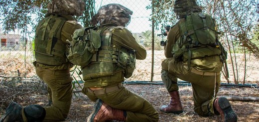 Idf-paratroopers-operate-in-gaza-operation-protective-edge - Photo by IDF