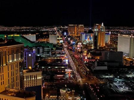 Las Vegas At Night - Public Domain