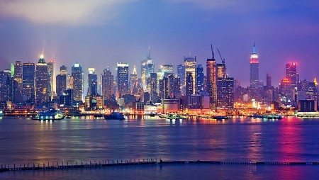 Manhattan Skyline - Photo by Emmanuel Huybrechts