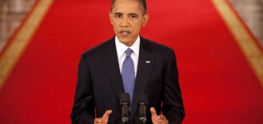 Obama Giving Speech - Public Domain
