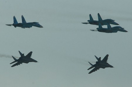 Russian Fighter Jets - Photo by Alan Wilson