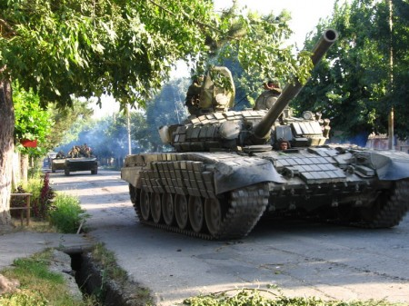 Russian Tanks - Photo by Yana Amelina