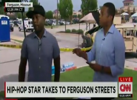 Talib Kweli Threatens to Quit CNN Don Lemon Interview over Ferguson Protest - YouTube