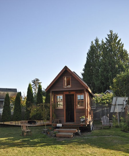 Tiny House In Portland, Oregon - Photo by Tammy