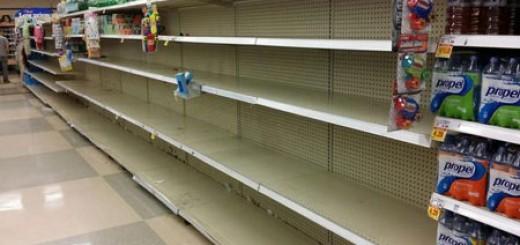 Toledo Empty Shelves