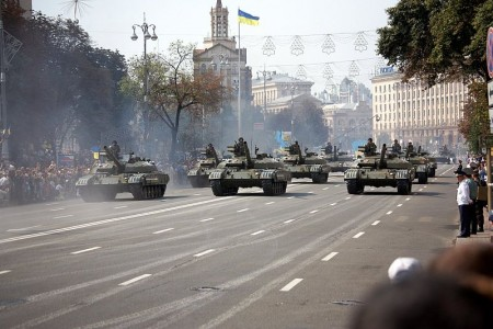 Ukraine Tanks - Photo by Michael