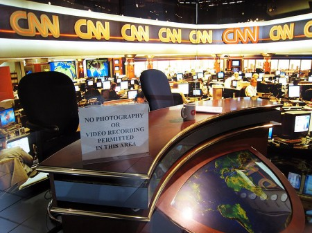 CNN News Studio - Photo by Doug