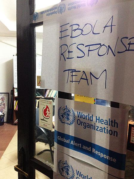 Ebola Response Team - Public Domain