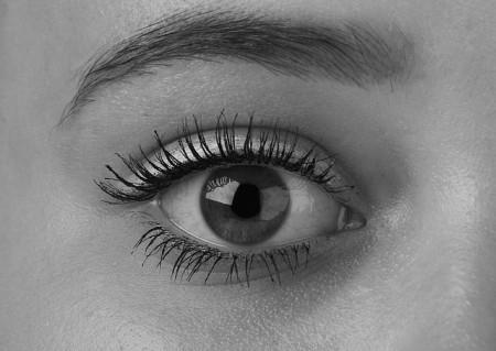 Eye Black And White - Public Domain