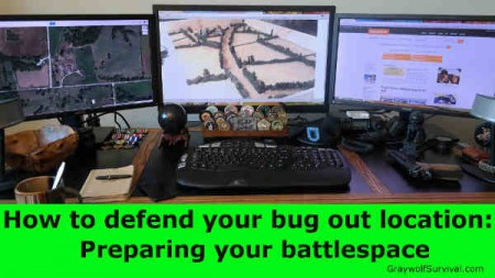 How to defend your bug out location - Preparing your battlespace