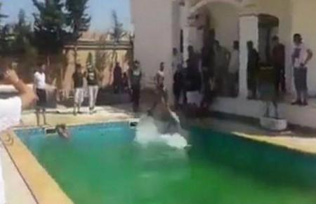 Jihadist Pool Party - Twitter