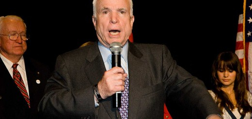 John McCain - Photo by Dan Bennett