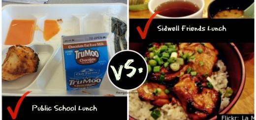 Michelle Obama School Lunches