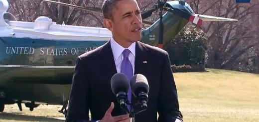 Obama Makes A Statement