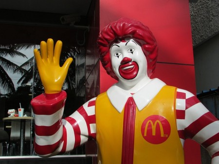 Ronald McDonald - Public Domain