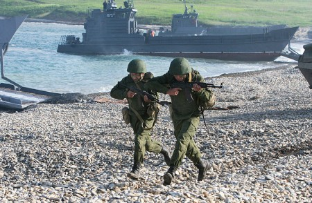 Russian Military Exercise - Photo from Wikimedia Commons