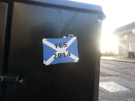 Scottish Independence - Photo by Yamen