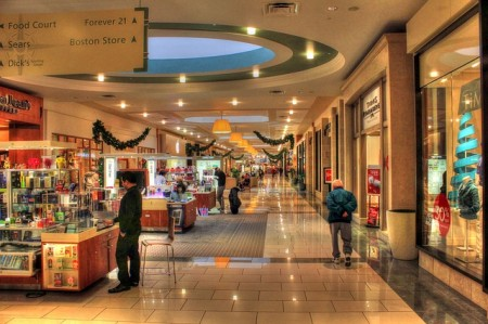 Shopping Mall - Public Domain