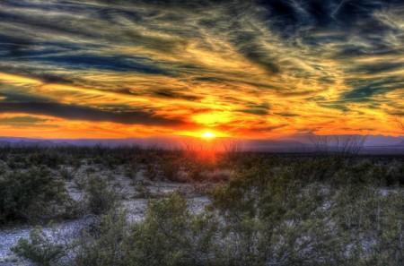 Texas Sunset - Public Domain