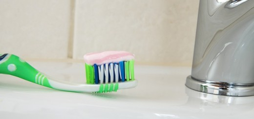 Toothpaste On A Toothbrush - Public Domain