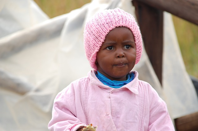 Africa Child - Public Domain