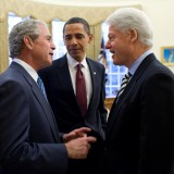 Bush Obama Clinton