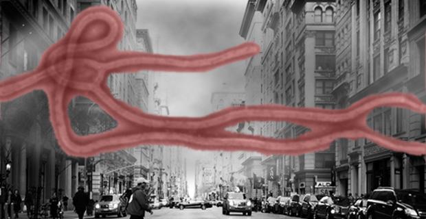 Ebola Airborne - Photo by foreverdigital on Flickr