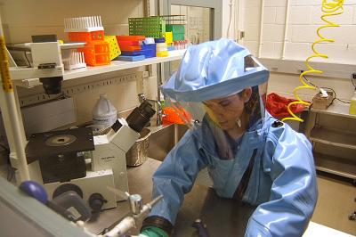 Ebola Biosafety_level_4_hazmat_suit - Public Domain