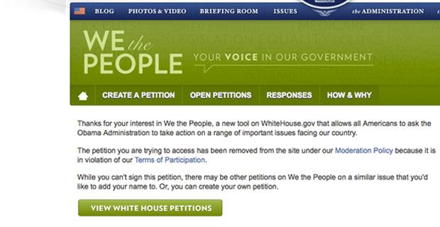 Ebola Petition
