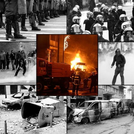 Greece Riots - Photo by Master of Puppets