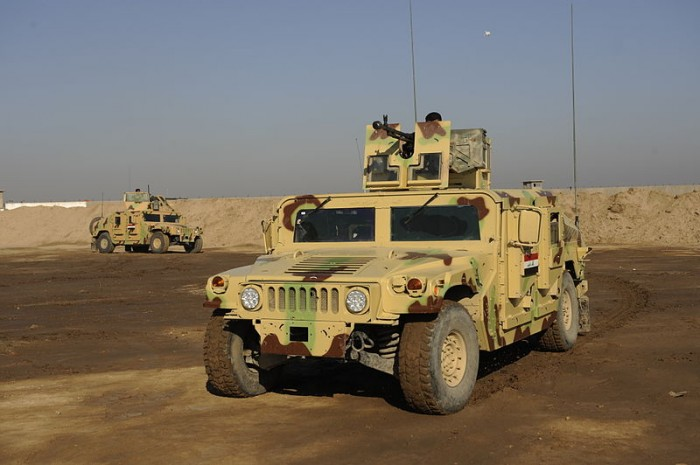 Humvees - Public Domain