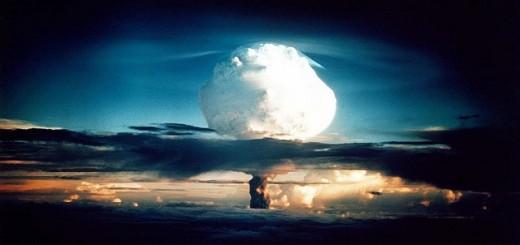 Nuclear Explosion On The Horizon - Public Domain