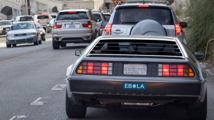 Obama Ebola Bumper Sticker
