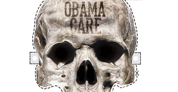 Obamacare Skull