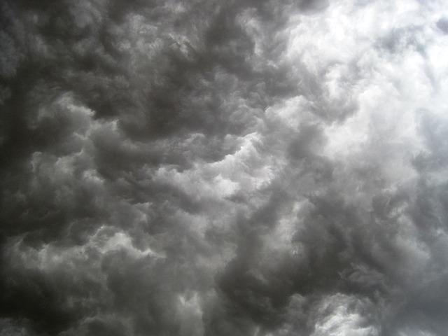 Ominous Storm Clouds Gathering - Public Domain