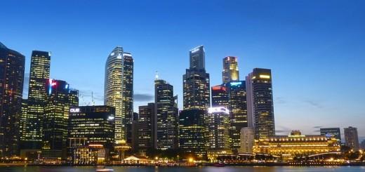 Singapore Skyline - Public Domain