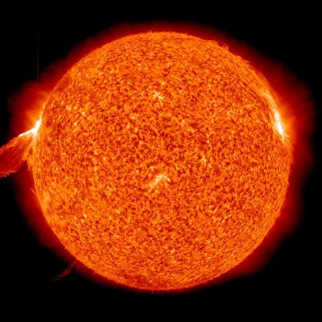 Solar Flare - Public Domain